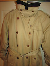 Tan w/ Plaid  Removable Wool Lining Trenchcoat Size 12P (equal to Burberry)  EXC