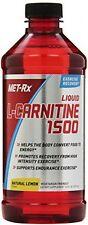 MET-Rx Liquid L-Carnitine 1500 Natural Lemon Flavor, 16 Ounce