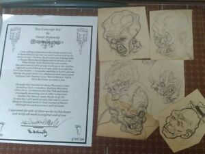 Vintage Toxic Crusaders Toxie Action Figure toy concept art 1980's cartoons