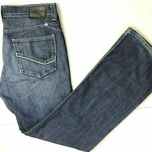 Kasil Heritage Kingsley Owen Mens Denim Jeans (33) 36 x 36 True Fit Wide Leg USA