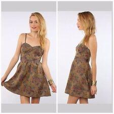 FREE PEOPLE Tapestry Bustier Mini Dress ASO Vampire Diaries, Size 8 Medium M