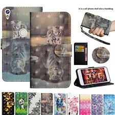 Premium Leather Card Holder Bling Folio Stand Case Cover For Various Smartphones