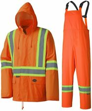 3 X Pioneer Rainsuit V1080250 Waterproof Lightweight Jacket and Pants Combo, 4XL