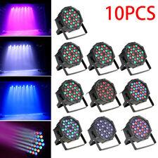 10PCS 36W RGB 36x LED ParCAN Stage Lighting DMX512 DJ Disco Party Strobe KTV