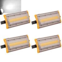 10X 100W LED Fluter Flutlicht Außen Leuchte Scheinwerfer Weiß COB Gartenstrahler
