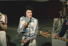 Les McKeown Hand Signed 12x8 Photo Bay City Rollers 5.