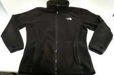 The North Face Girl's Fleece Zip Jacket Black Size XL (18) Used