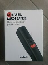 Inateck LED Wireless Presenter, Rechargeable, Remote Connected, WP01001