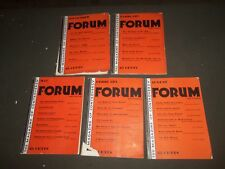 1931-1933 FORUM AND CENTURY MAGAZINE - LOT OF 5 ISSUES - H 215