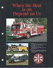Fire Equipment Brochure - 3-D - Paramount Pumper Tanker Rescue - 3 items (DB273)