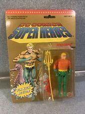 New 1990 Toy Biz DC Comics Super Heroes AQUAMAN Fin Kick Figure SEE DESCRIPTION