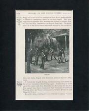 Good-Bye American Civil War Soldiers Original Engraving Book Photo Display