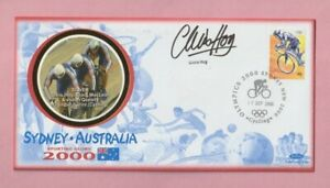 Australia - Sydney, 2000 Olympic Games Autographed Stamp cover, Chris Hoy