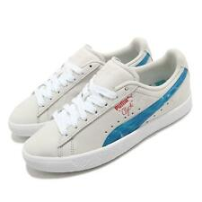 Puma Clyde Super Mario Sunshine Nintendo Whisper White Blue Men Unisex 380199-01