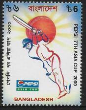 BANGLADESH 2000 PEPSI ASIA CUP CRICKET 1v Mint Never Hinged