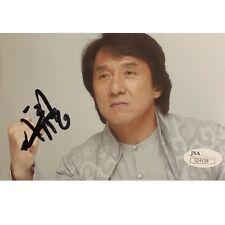 JACKIE CHAN AUTOGRAPHED SIGNED 4x6 PHOTO JSA COA