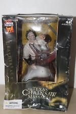 """massacre à la tronçonneuse the texas chainsaw massacre leather face 12"""""""