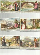ITALY Liebig trading cards S 1567 F 1564 Costumes of Piedmont - COSTUMI PIEMONTE