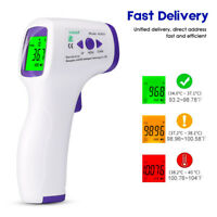 Medical NON-CONTACT Body Forehead IR Infrared Laser Accurate Digital Thermometer