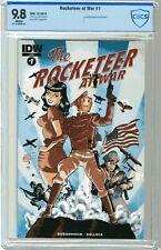 Rocketeer at War #1  CBCS  9.8  NMMT  White pgs  12/15  Centerfold poster by Da