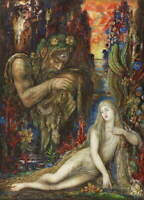 Gustave Moreau Galatea Poster Reproduction Paintings Giclee Canvas Print