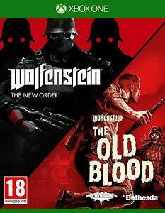 Wolfenstein The New Order and The Old Blood Double Pack  (Xbox One) BRAND NEW