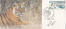 India 2013 Tigress Macchali  Ranthambore Tiger Reserve  Special Cover  # 14289