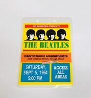 1964 Beatles International Amphitheatre Backstage Pass