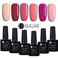 6Bottles UV Gel Nail Polish Set 7.5ML Soak Off Gel Nails  UR Sugar Salon
