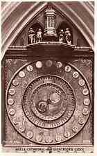 Lightfoot's Clock, Wells Cathedral, Somerset - Postcard Unused