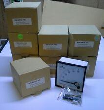 DC Panel Meters 0-50 millivolt, , 96x96mm,