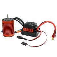 9T 4370KV Brushless Motor + 60A ESC Speed Controller Combo ME720 Für 1/10 RC Car