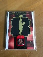 "TRAVIS OUTLAW 09-10 UD EXQUISITE ""EXTRA EXQUISITE"" JERSEY #7/25"