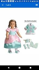 AMERICAN GIRL DOLL CLOTHES MARIE GRACE FANCY DRESS COSTUME & Coat