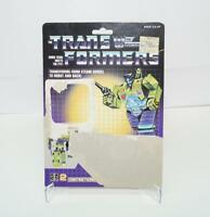 Scavenger Devastator Cardback Vintage 1985 G1 Transformers Action Figure