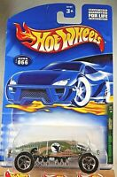 Hot Wheels 2001 Rod Squadron Series Lakester Green Camo 2//4 066 Golden Eagle