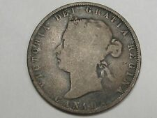 1872 Canadian Fifty Cent Coin. 50¢ CANADA. #32