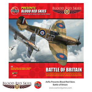 AIRFIX BATTLE OF BRITAIN - BLOOD RED SKIES - WARLORD GAMES - WW2 - NOW