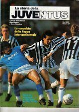 LA STORIA DELLA JUVENTUS=FASCICOLO N°17=1983-1985=PLATINI-MARADONA COVER