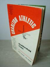 CHARLTON v HUDDERSFIELD - Div.2 04/11/67 - Also 'FL Review' w/e 28/10/67 - Mint