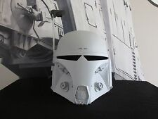 "Star Wars Mando Bounty Hunter ""DEFENDER"" Mandalorian Merc cosplay Helmet Prop"