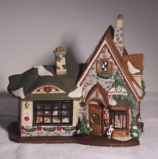 Collectable Christmas Village House Santa's Workshop THE PRECIOUS PET 793