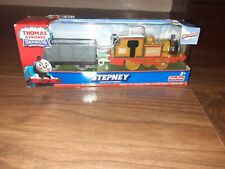 thomas trackmaster stepney and truck brand new in sealed box rare