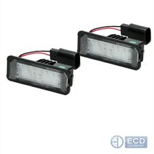 LED Kennzeichenbeleuchtung Kennzeichenleuchte VW Golf 4 5 Passat 3C Lupo Polo 9N