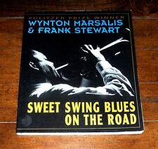 BOOK: Sweet Swing Blues on the Road by Wynton Marsalis 1994 Import 1st Ed Photos