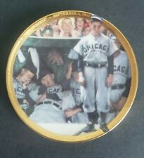 """Sports Impressions Norman Rockwell """"The Dugout"""" Baseball ceramic Plate"""