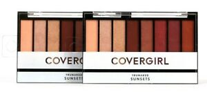 2 Count Covergirl TruNaked Sunsets Eyeshadow Palette Apply Wet Or Dry For Effect