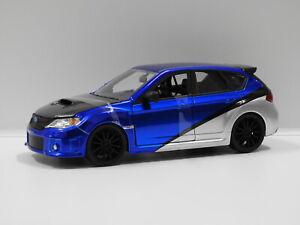 "1:24 Brian's Subaru Impreza WRX STi ""Fast & Furious"" Jada 99514"