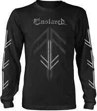 ENSLAVED Rune Cross LONG SLEEVE T-SHIRT OFFICIAL MERCHANDISE