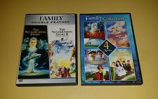FAMILY KIDS COLLECTION DVD NEVERENDING STORYS,NICO THE UNICORN 6 MOVIEs RARE OOP